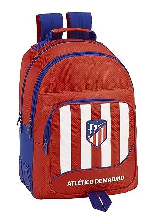 Atlético de Madrid plumier Mochila 4 Estuches llenos, 33 Piezas, Escolar.: Amazon.es: Equipaje