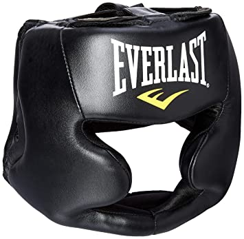 Image Unavailable. Image not available for. Color  Everlast MMA Headgear  Black 7420 2604a8339cd8