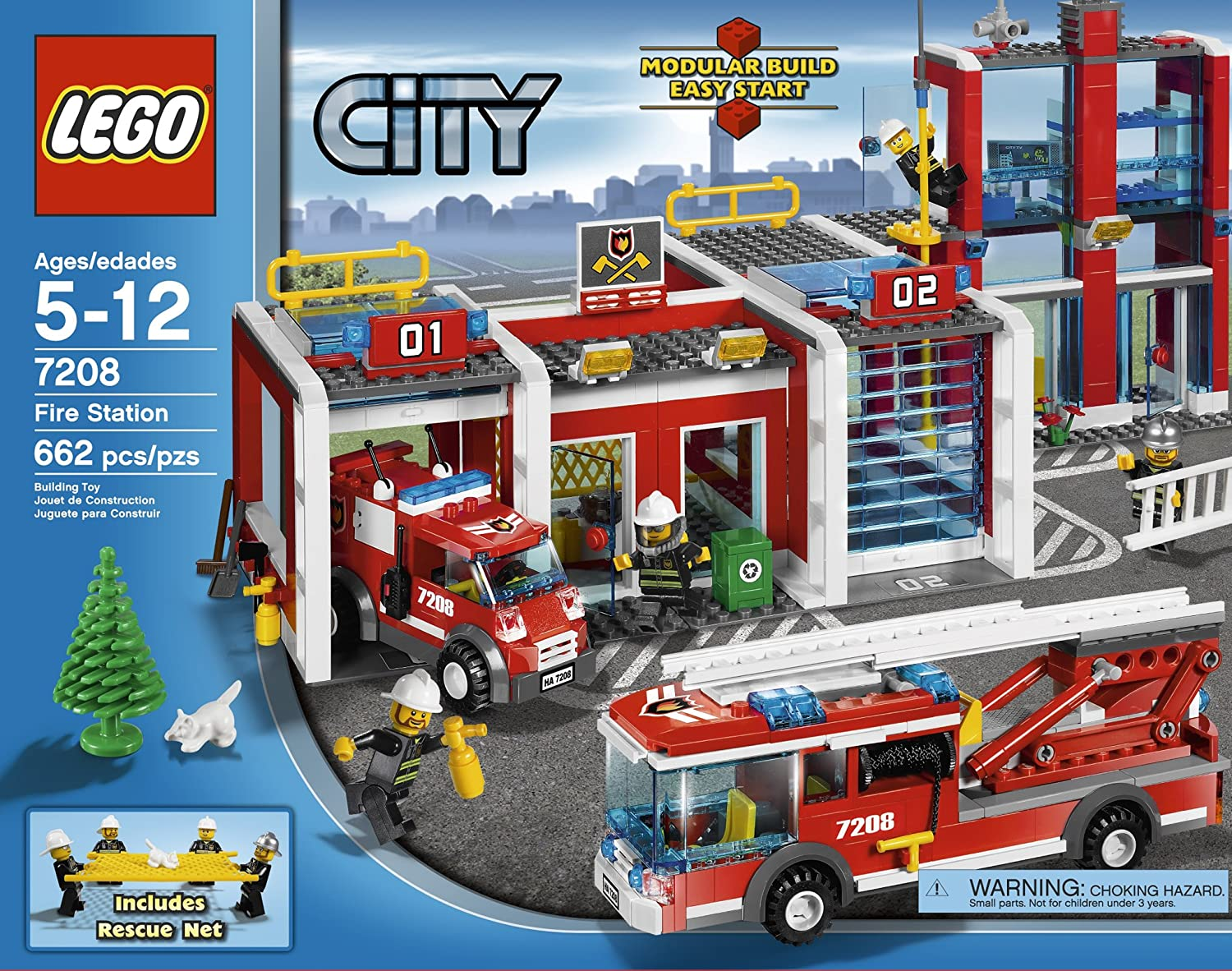 lego city fire station images. Black Bedroom Furniture Sets. Home Design Ideas