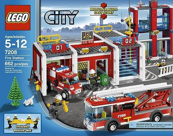 Amazon Lego City Fire Station 7208 Toys Games