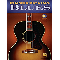 Fingerpicking Blues (Songbook): 15 Songs Arranged for Solo Guitar in Standard Notation & Tab