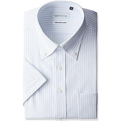 2965a3a799c51 (フレックスジャパン) FLEXJAPAN(フレックスジャパン) ノーアイロン ストレッチ 吸水速乾 半袖