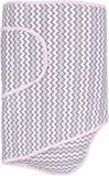 Miracle Blanket Swaddle (Pink Chevron)