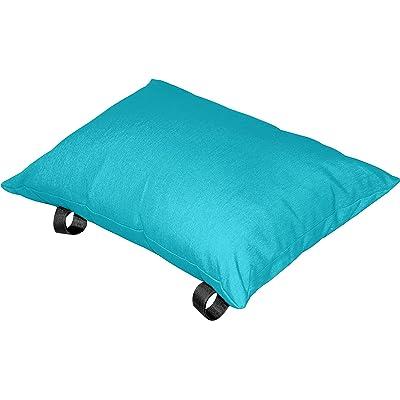 Vivere Polyester Hammock Pillow, True Turquoise : Garden & Outdoor