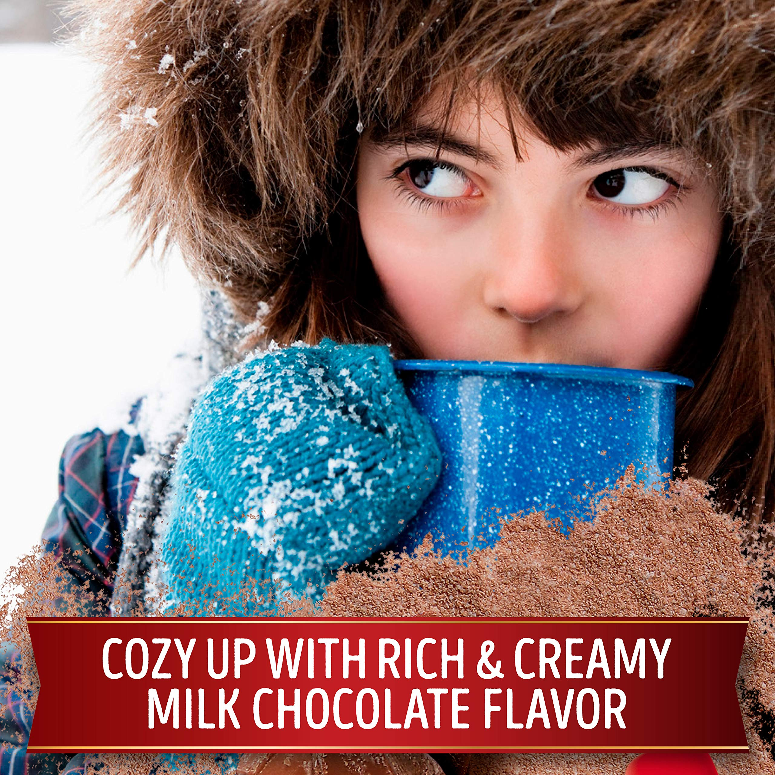 Swiss Miss Milk Chocolate Flavor Hot Cocoa Mix, 30Count 41.4 oz 8 Pack by Swiss Miss (Image #3)