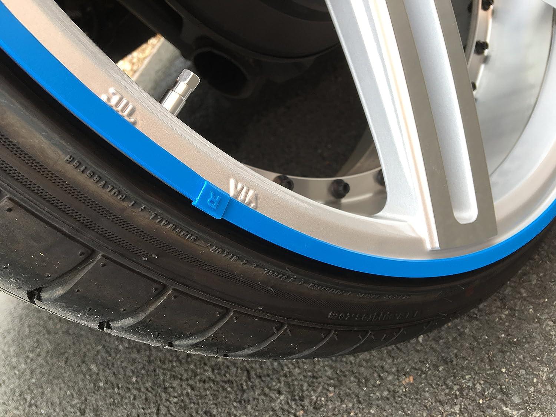adesivo per bordo cerchione anello di protezione di cerchioni in alluminio Rimsavers restyling cerchione protezione e restyling cerchioni protezione bordo