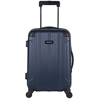 Kenneth Cole Reaction Out Of Bounds 20  Hardside 4-Wheel Spinner Carry-on Luggage, Navy