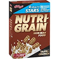 Kelloggs Nutri Grain, Breakfast Cereal, 1.2kg