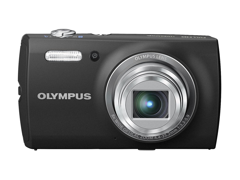 OLYMPUS デジタルカメラ VH-510 ブラック iHSテクノロジー 1200万画素 裏面照射型CMOS 光学8倍ズーム DUAL IS ハイビジョンムービー 3.0型LCD 3Dフォト機能 VH-510 BLK  ブラック B007RL1PVS