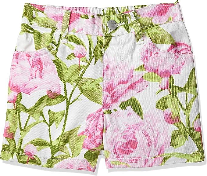 The Childrens Place Big Girls Slim Denim Novelty Shorts