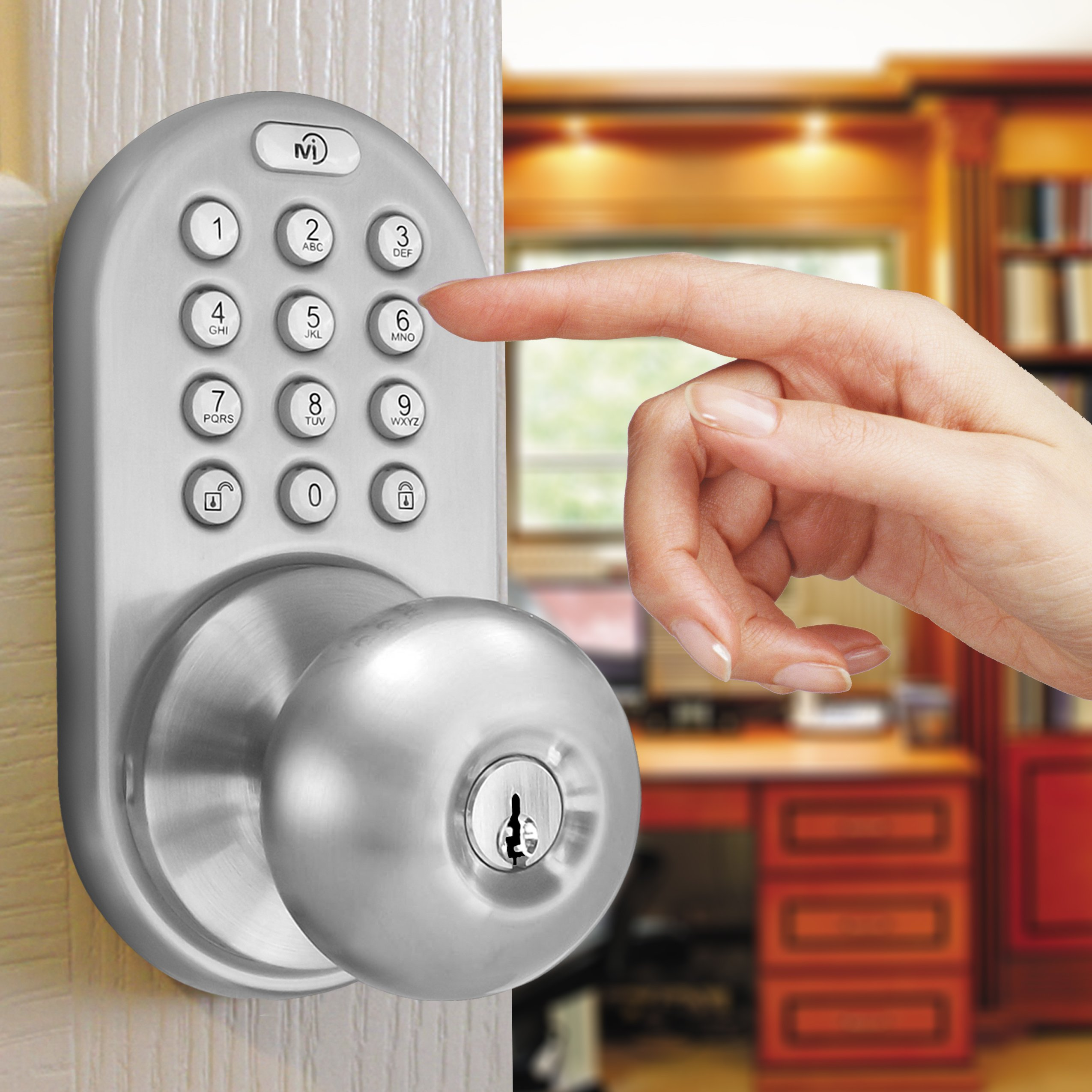Keyless Door Lock Entry Electronic Security Password Keypad