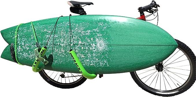 Soporte para Tabla de Surf para Bicicleta, Ideal para IR a la Playa.: Amazon.es: Deportes y aire libre