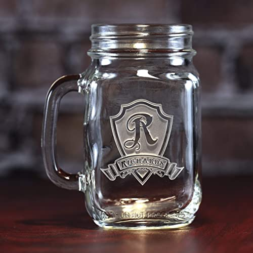 amazon com engraved mason jar mugs personalized wedding gift ideas