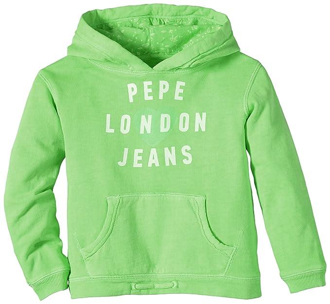 Pepe Jeans Lindy - Sudadera para niña, color grün (acid menta 606),
