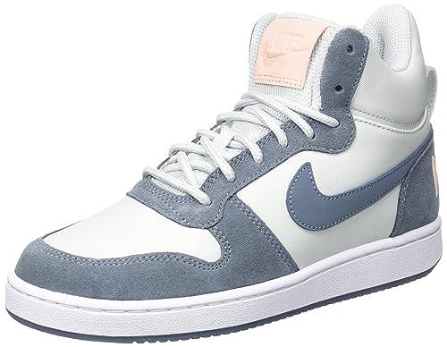 nouveau style 677ea 91a0a Nike W Court Borough Mid Prem, Chaussures de Sport Femme