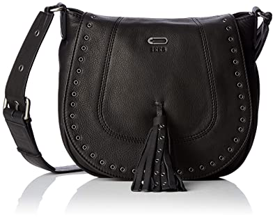 5f6478c6d33 IKKS femme The Waiter Rock Sac bandouliere Noir (Noir)  Amazon.fr ...