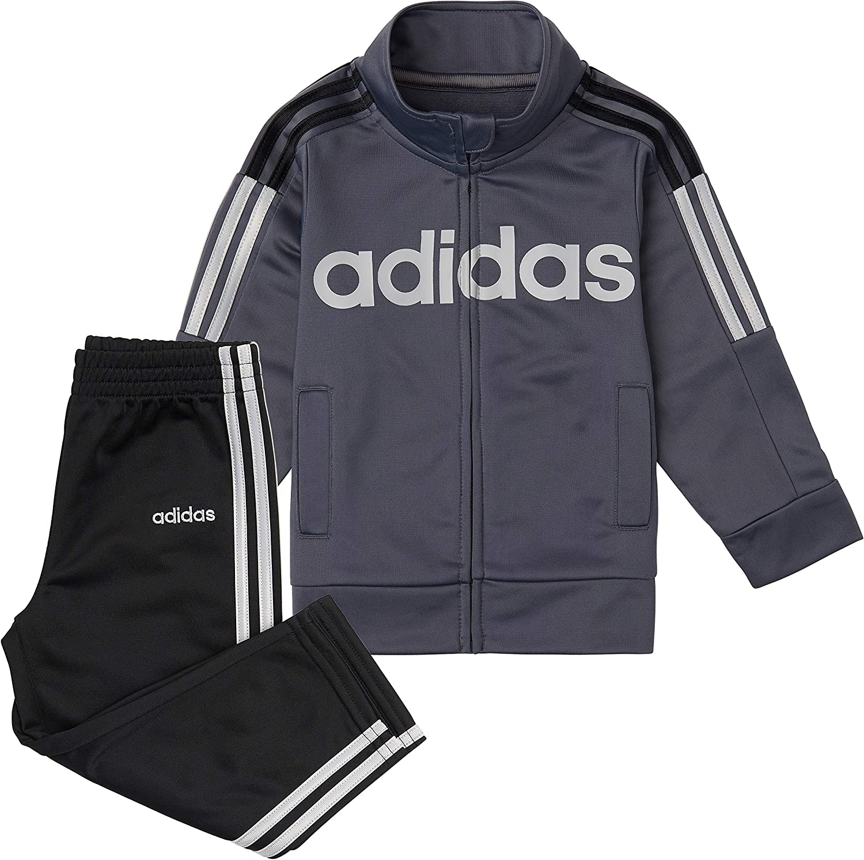 Adidas boys Updated Tricot Jkt /& Pant Set Pants Set