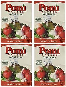 Pomi USA Inc Sauce, Marinara, 26.46-Ounce (Pack of 4)