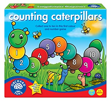 Amazon.com: Counting Caterpillars Board Game: Toys & Games