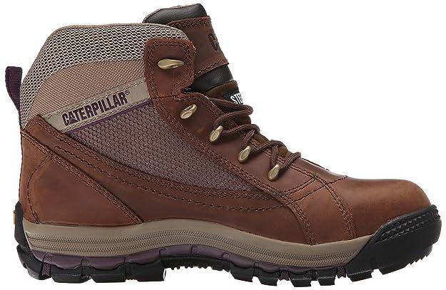 5a62999c Caterpillar - Zapatillas de Trabajo para Mujer (Acero), Azúcar Moreno, 10 M  US: Amazon.com.mx: Ropa, Zapatos y Accesorios