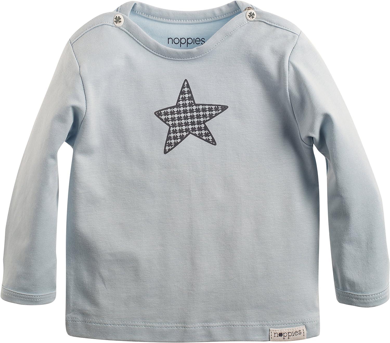 Azul Claro Reci/én Nacido 50 Camiseta para Beb/és Noppies 67304