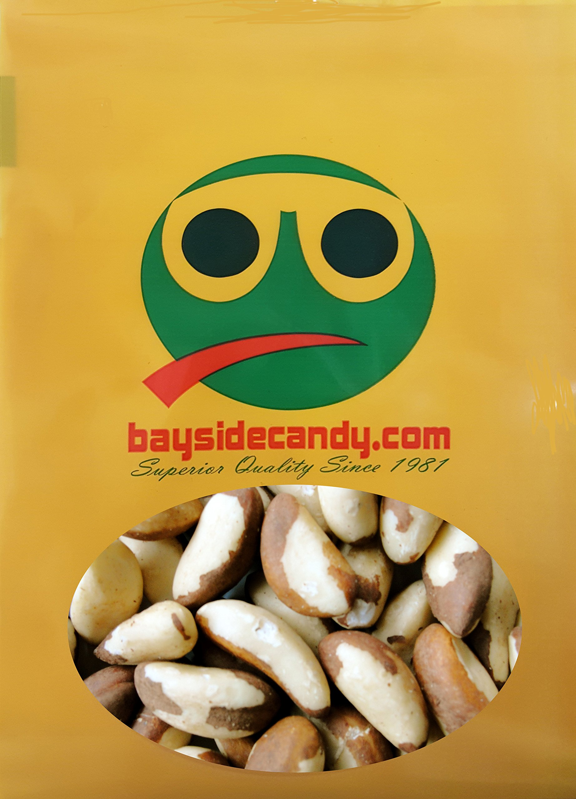 BAYSIDE CANDY RAW WHOLE BRAZIL NUT (2LB)