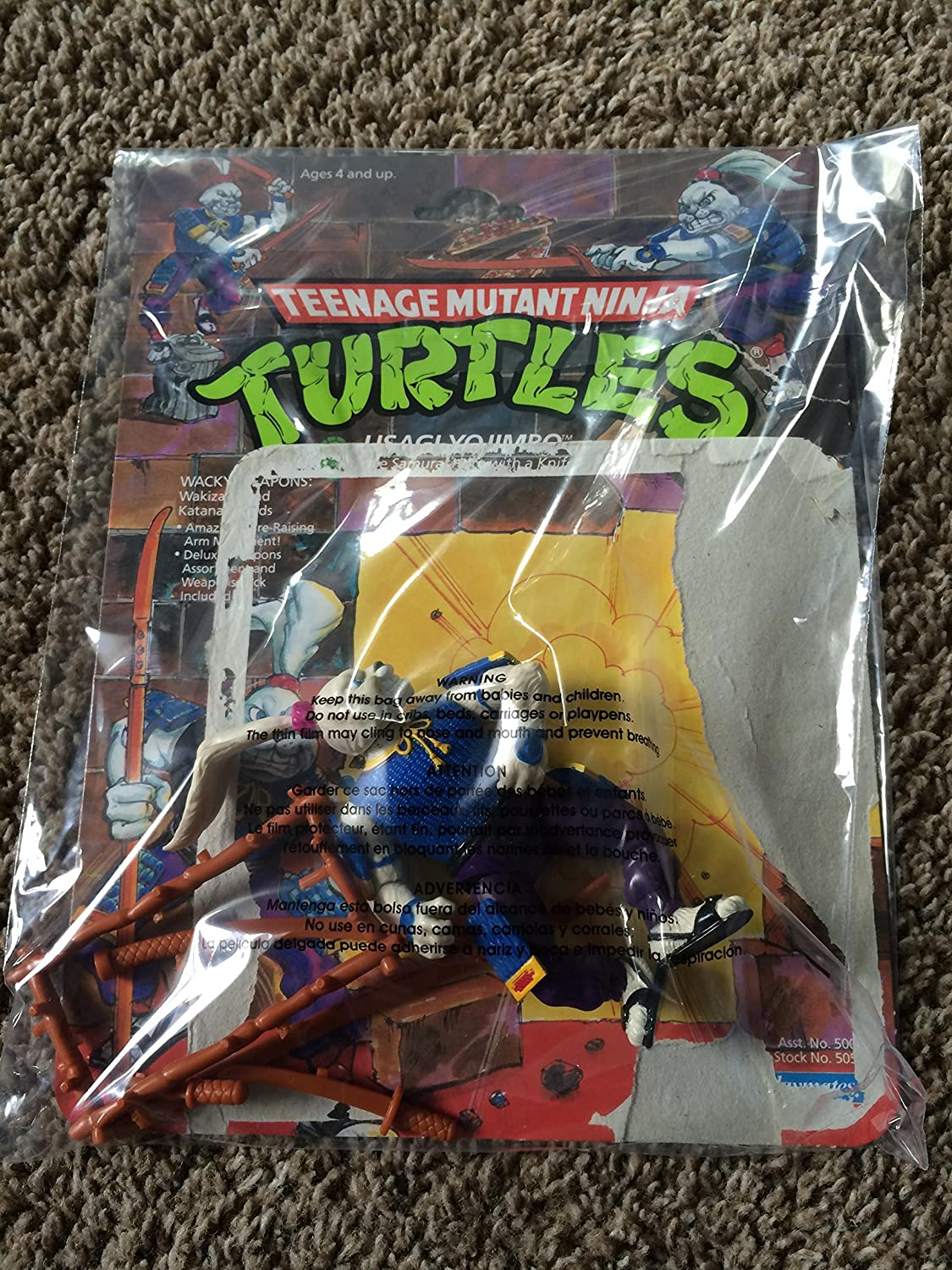 Teenage Mutant Ninja Turtles Usagi Yojimbo Moc
