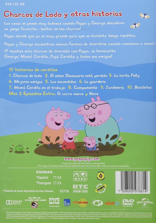 Amazoncom Peppa Pig En Espanol Temporada 1 Volumen 1 Charcos De