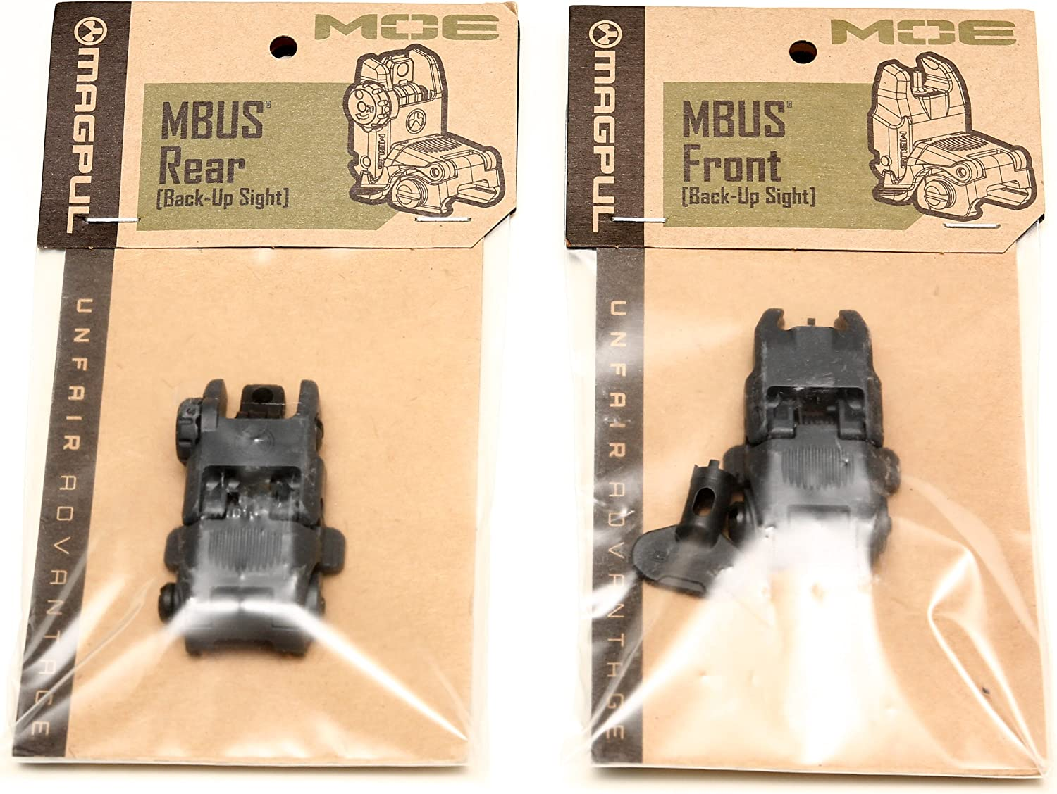B00WY7Q66Y Magpul Industries MBUS Generation II Sight Set Front & Rear Color- Stealth Gray 715eUPemytL.SL1500_