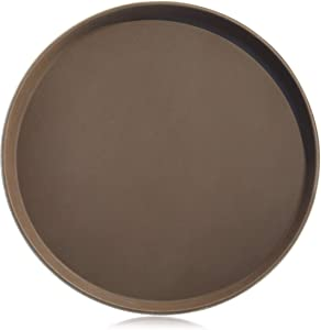 New Star Foodservice 25248 Restaurant Grade Non-Slip Tray, Plastic, Rubber Lined, Round, 16