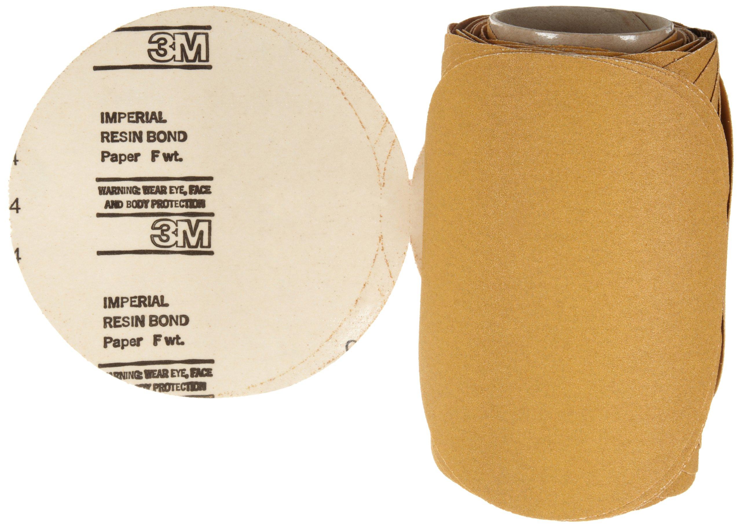 3M Stikit Paper Disc Roll 363I, PSA Attachment, Aluminum Oxide, 8'' Diameter, 80 Grit (Roll of 50)
