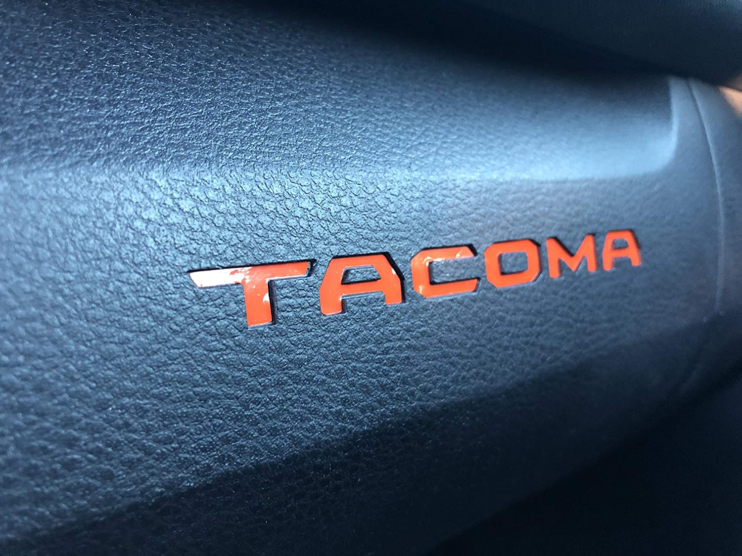 Spartan Off Road Glove Box Vinyl Decal Inserts - Compatible with All 2016-2020 Toyota Tacoma Models