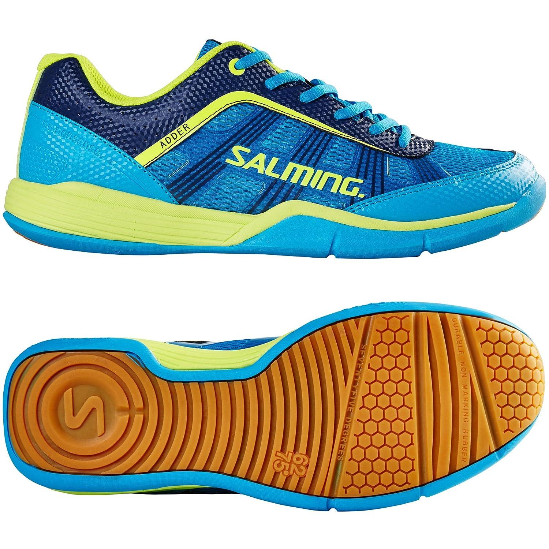 Salming Chaussures Adder Men Cyan/Jaune CDuiFt