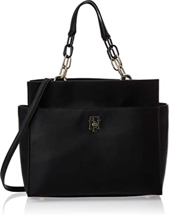 Tommy Hilfiger Satchel for Women-Black