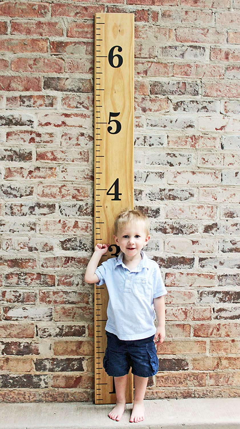 Jumbo Numbers DIY Vinyl Growth Chart Ruler Decal Kit