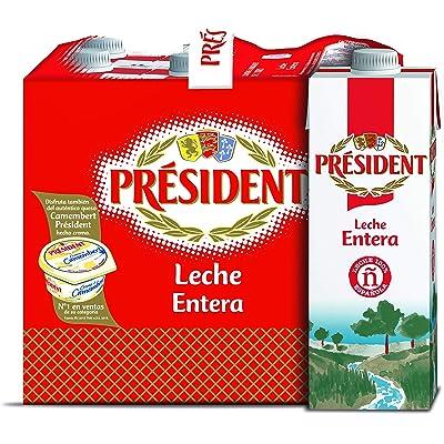 President Leche Entera - 6 x 1 L