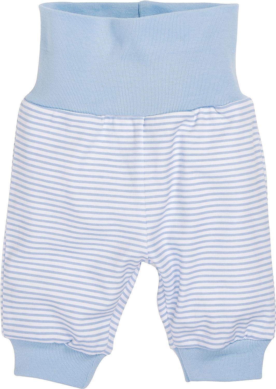 komfortable und hochwertige Baby-Hose mit elastischem Bauchumschlag gestreift Schnizler Kinder Pump-Hose aus 100/% Baumwolle