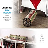 Christmas Wrapping Paper Storage Bag - Fits 14 to
