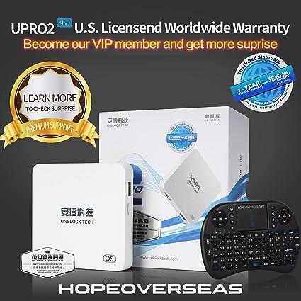 HopeOverseas 2018 Latest UnblockTech U S  Licensed UPRO I900 Model