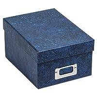 ALBOX700BLUE Photo Album Company Ltd-rigide de 550 4 Boutique Coffret cadeau - 6 x 10 x 15 cm des Photos