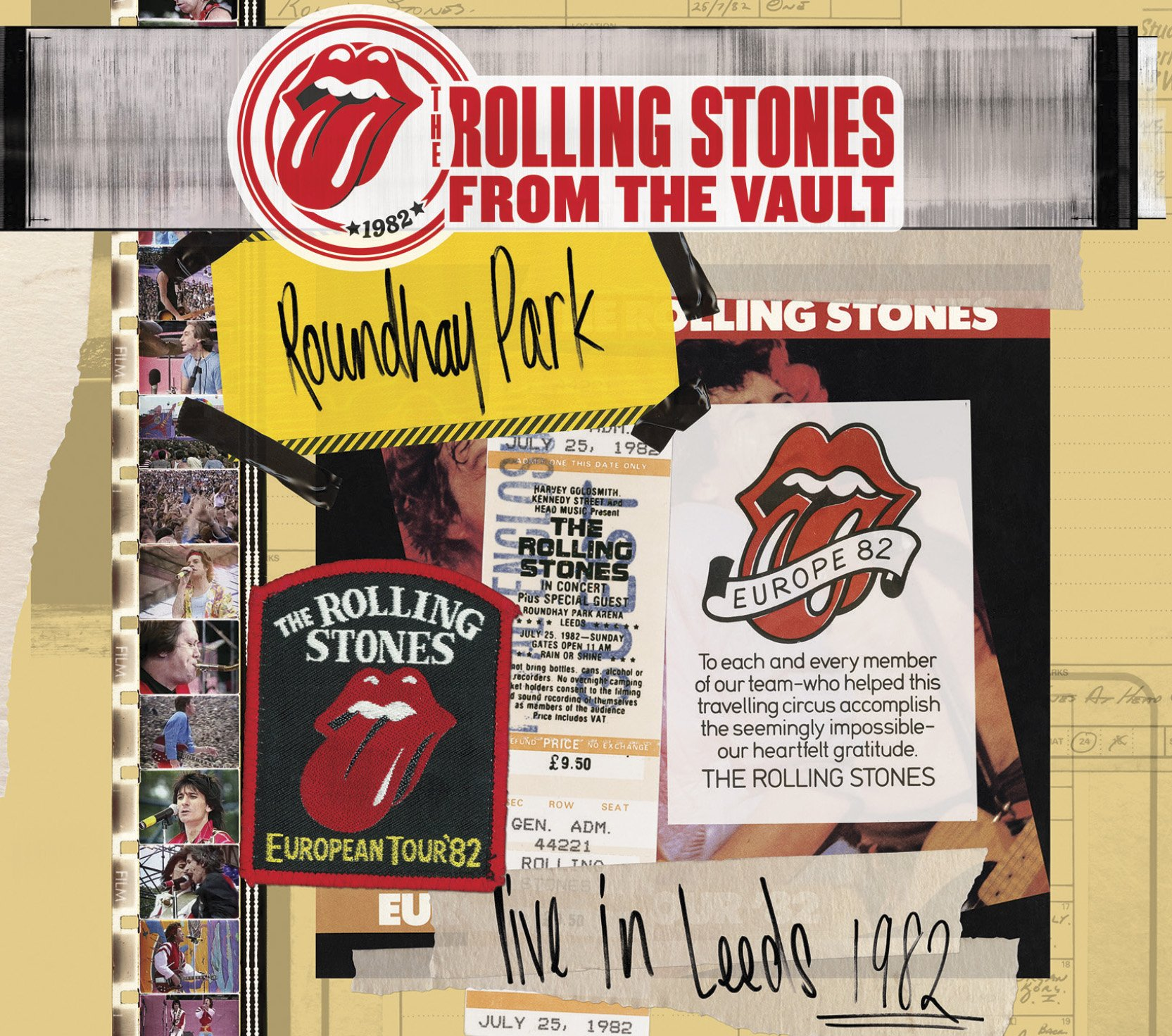DVD : The Rolling Stones - The Rolling Stones: From the Vault - Live in Leeds 1982 (With DVD, 3 Disc)