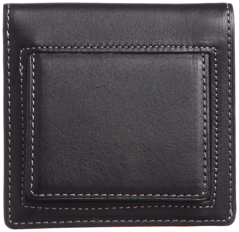 [スィンリー] THINly 財布 小銭入れ メンズ 二つ折り 薄型 日本製 B00ES5BGCY ブラック ブラック