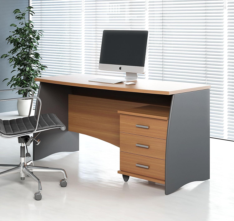 Mesas escritorio ordenador mia home mesa para ordenador for Muebles de oficina lujosos