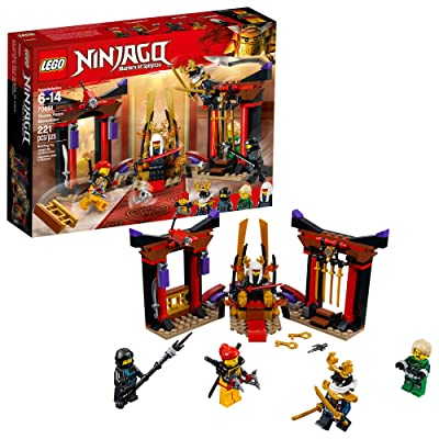 LEGO NINJAGO Masters of Spinjitzu: Throne Room Showdown 70651 Building Kit (221 Pieces): Toys & Games