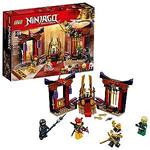 LEGO NINJAGO Masters of Spinjitzu: Throne Room Showdown 70651 Building Kit (221 Piece)