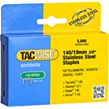 Tacwise 140/10mm Stainless Steel Staples (Box of 2000)