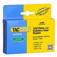 Tacwise 1217 Edelstahlklammern 140/10mm (2.000 Stück)
