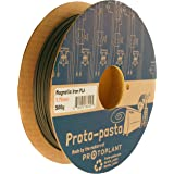 Proto-pasta FEP11705 Rustable Magnetic Iron Spool , PLA 1.75 mm, 500 g , Gray