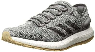adidas Performance Men's Pureboost ATR Running Shoe, White/Black/Grey  Three, 10