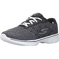 Skechers PERFORMANCE 女式 GO WALK 4EXCEED 系带运动鞋